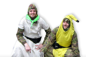 Stag parties at Survival Paintball